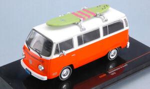 Model Car Scale 1:43 Ixo Model VW T2 buses diecast Samba vehicles road