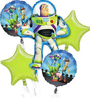 Toy Story Happy Birthday Balloon Bouquet 5pc
