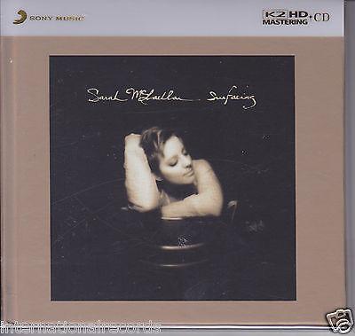 """Sarah McLachlan Surfacing"" Japan 100KHz/24bit K2HD Mastering CD Audiophile New"