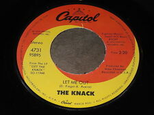 The Knack: Let Me Out / My Sharona 45