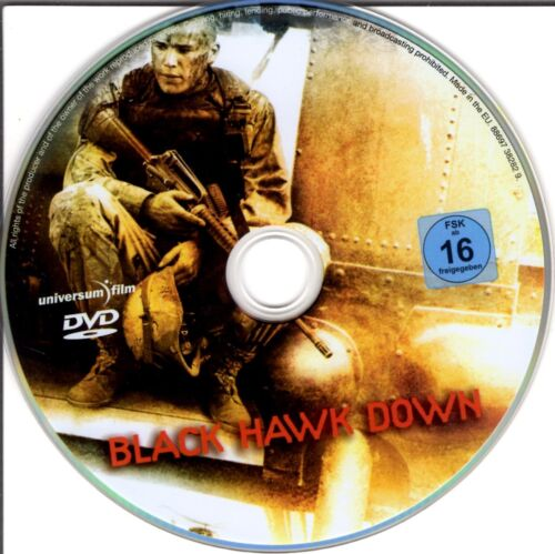1 von 1 - Black Hawk Down - DVD - ohne Cover #m35