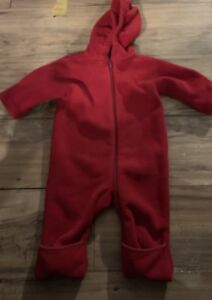 d5565d106 Lands End Boys Girls Bunting Size 3-6 Months Snow Suit Red | eBay