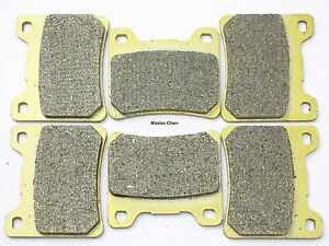 Front Rear Brake Pads For Yamaha FZ 7501985-1988 / FZX 750 1987 FA088 Brakes