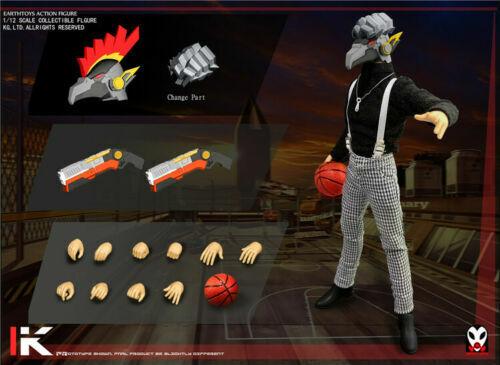 K Chicken Head Basketball Figure Sets Model EARTHTOYS 1//12 Scale Mr