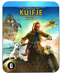 Avonturen van Kuifje - Het geheim van de eenhoorn (Steelbook) - Du Blu-Ray NUEVO