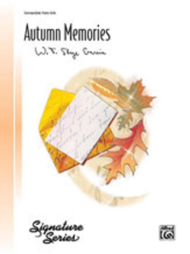 28193 Piano Solo Autumn Memories intermeidate piano Skye ; Garcia W.T