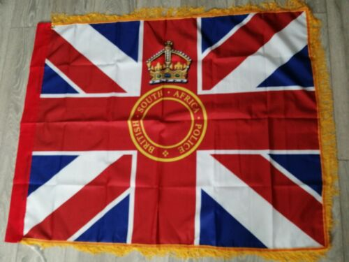 British South Africa Police Kings colours flag