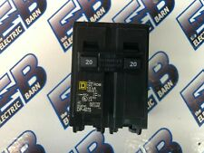 20 Amp 2 Pole 240 Volt Circuit Breaker Warranty Square D HOM220