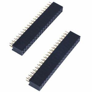 5-pezzi-2-x-20Pin-Short-Head-Female-Header-per-Raspberry-Pi-Zero-U7U4