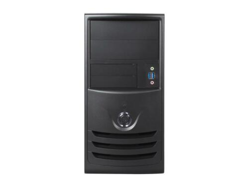 IN WIN Z589T.CH350TB3 Black SECC MicroATX Mini Tower Computer Case ATX 12V Form