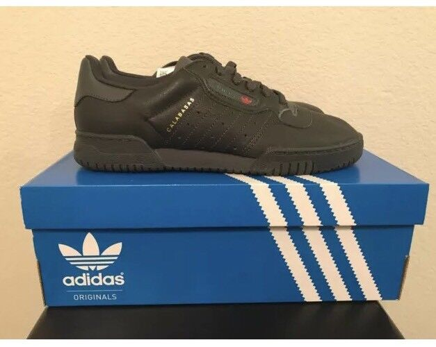 ADIDAS YEEZY POWERPHASE CALABASAS - MENS SIZE 7 - CORE BLACK Pre Owned Authentic