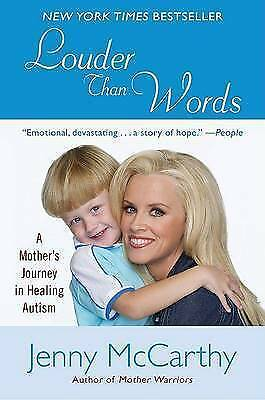 1 of 1 - Louder Than Words: A Mother's Journey in Healing Autism by Jenny McCarthy.