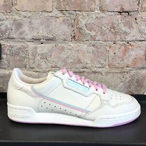 Detalles acerca de Adidas Continental 80 Para Hombres Sneaker Apagado  Blanco Rosa Verde Azulado Nuevo- mostrar título original