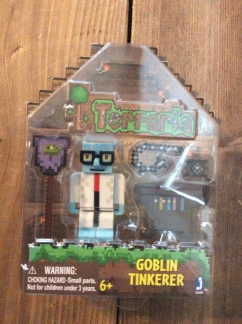 Series 1 w// Bonus Accessories Deluxe TERRARIA Goblin Tinkerer Action Figure