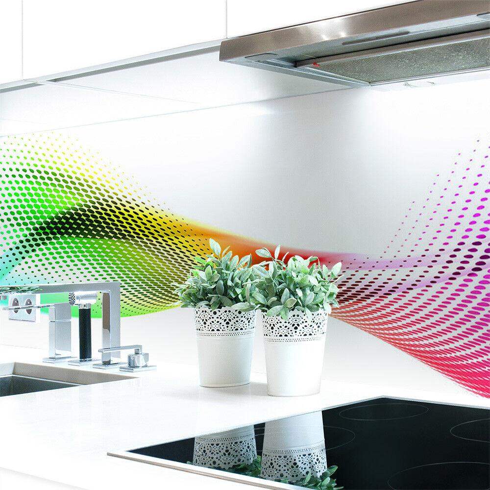 Küchenrückwand Abstrakt Regenbogen Premium Hart-PVC 0,4 mm selbstklebend