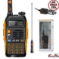 Handheld Police Radio Scanner 2-way Triple Power Digital Transceiver Ham Antenna