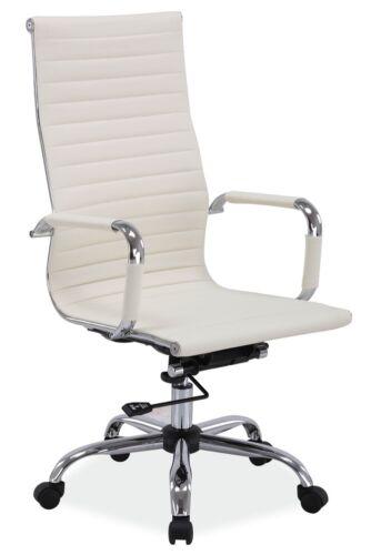 Bürostuhl Q-040 Chefsessel Stuhl Drehstuhl Modern Stil Beige//Schwarz