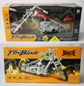 Ghost Rider On Motorcycle-Blue Flame-Minifigure-US Seller-WE COMBINE SHIPPING