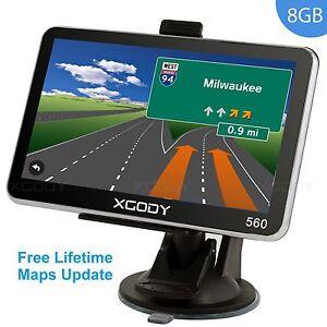 XGODY-5-034-INCH-CAR-TRUCK-GPS-SAT-NAV-NAVIGATION-SYSTEM-8GB-POI-UK-EU-FREE-MAPS