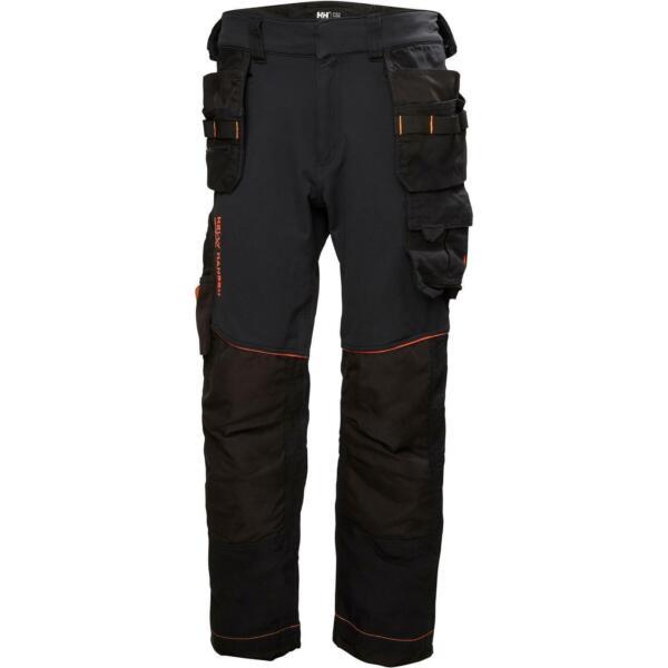 100% Vero Hh Chelsea Evolution Federale Pantaloni Nero Valore Eccezionale