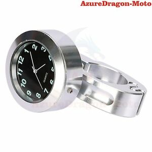 7-8-034-1-034-CNC-Motorcycle-Bike-Handle-Bar-Mount-Clock-Waterproof-Universal