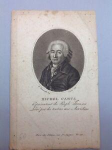 Gravure-Ancienne-19-portrait-Michel-CAMUS-par-Bonneville-Grav-Gautier-1-Rep