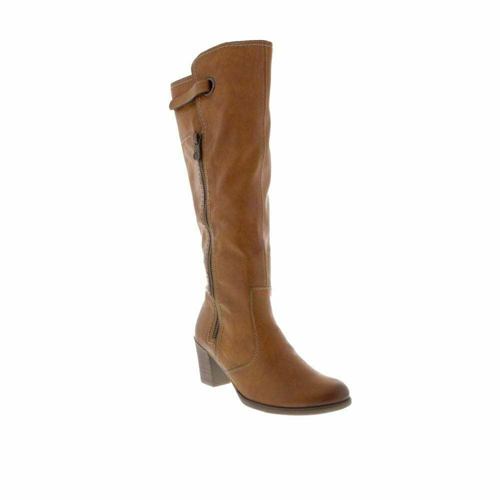 RIEKER Y8980-24 LADIES braun ZIP Stiefel