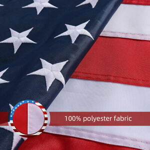 3-039-X5-039-ft-American-Flag-US-USA-EMBROIDERED-Stars-Sewn-Stripes-Brass-Grommets