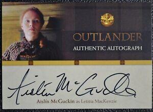 Cryptozoic-Outlander-Season-1-Aislin-McGuckin-AM-Auto-Autograph-Trading-Card