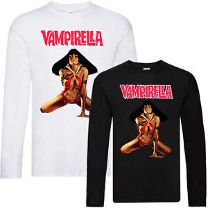 LONGSLEEVE T-Shirt Jim WynorskI VAMPIRELLA V2 ALL SIZES S-5XL poster WHITE