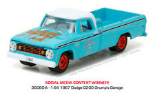 GREENLIGHT 1:64 BLUE COLLAR COLLECTION SERIES 2 1967 DODGE D-200 DIECAST 35060-A