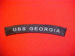 Rocker  Submarine USS Tennessee SSBN 734 UIM US NAVY
