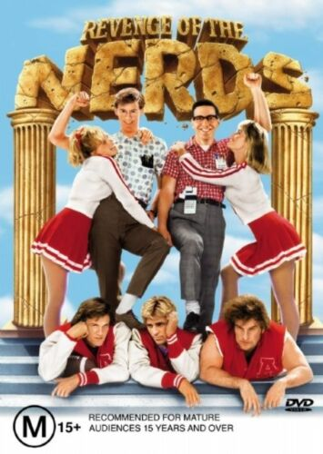 1 of 1 - Revenge Of The Nerds - DVD VERY GOOD CONDITION FREE POSTAGE AUS REGION 4