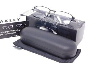 7136abb25fc Image is loading Oakley-Wingfold-OX5100-0152-Rx-Prescription-Black-Eyeglass-