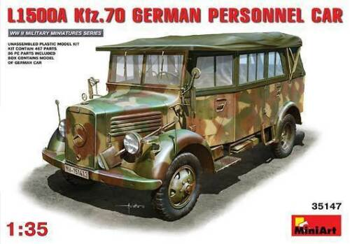 Miniart 1:3 5 35147: Bus L1500A kfz. 70