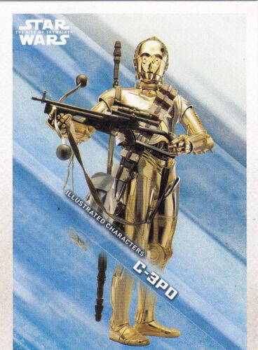 Topps Star Wars The Rise of Skywalkertous Insert cartes sélection Choisir