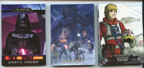 2015 Topps Star Wars Illustrated Empire Strikes Back 138-Card Mini-Master Set