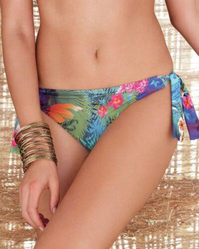 NUOVO Fantasie Dominica SCIARPA LACCIO Slip Bikini 5963 Tropicale Stampa Varie Taglie
