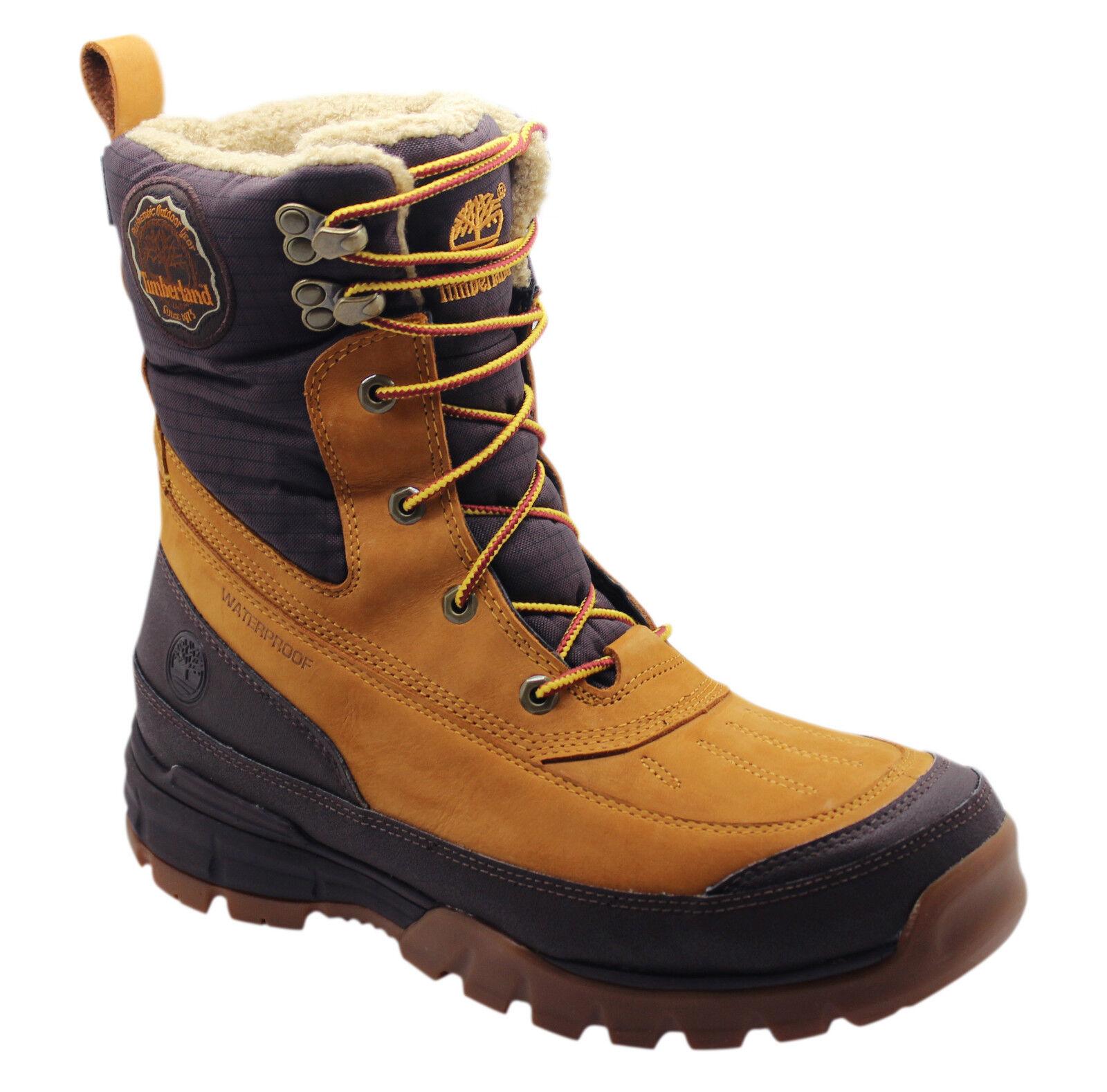 Мужские ботинки Timberland FURIOUS FUSION 8 Zoll Winter Schnee Wasserdicht Herren Stiefel 80183 d115