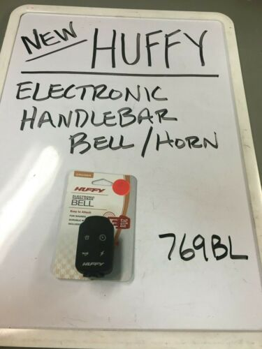NEW HUFFY BICYCLE ELECTRIC BELL//HORN  # 769BL