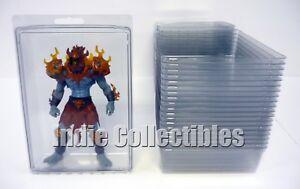 Motu Bulle Étui Lot Of 20 Figurine Articulée Écran D'affichage Protectrice