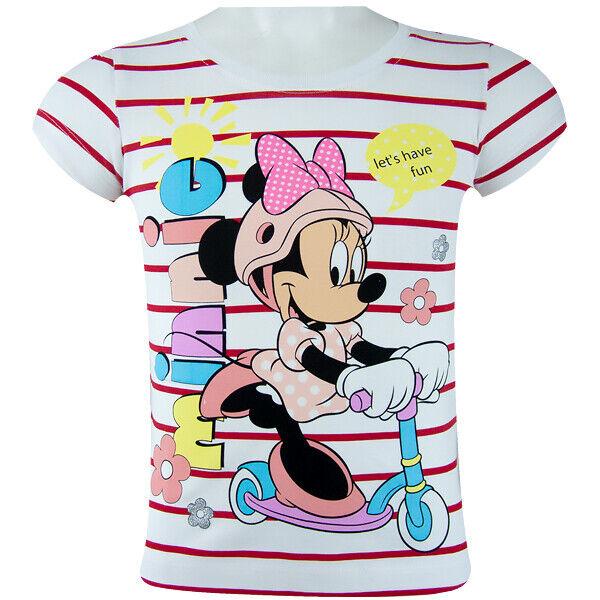 Disney MINNIE MAUS Rot Shirt T-Shirt 98-128 Kurzarmshirt
