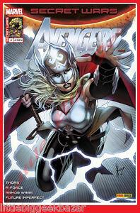 AVENGERS-SECRET-WARS-4-04-Avril-2016-Thor-Armor-Force-Panini-Marvel-NEUF