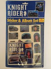 Knight Rider Sticker & Album Set Unopened