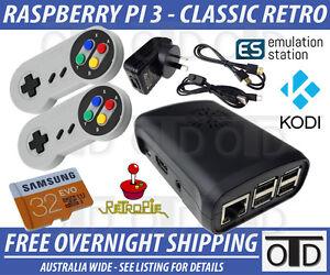 RetroPie-KODI-Classic-Game-Console-Raspberry-Pi-3-Nintendo-NES-SNES-N64-SEGA