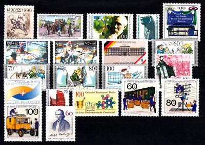 Berlin - Jahrgang 1990 (= Nr. 860-879) Postfrisch/**, Komplett !