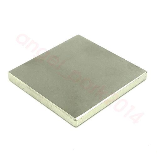 Block 46.5mm x 46.5mm x 4.6mm Craft Industrial Rare Earth Neodymium Magnets N50