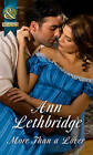More Than a Lover (Rakes in Disgrace, Book 3) by Ann Lethbridge (Paperback, 2016)