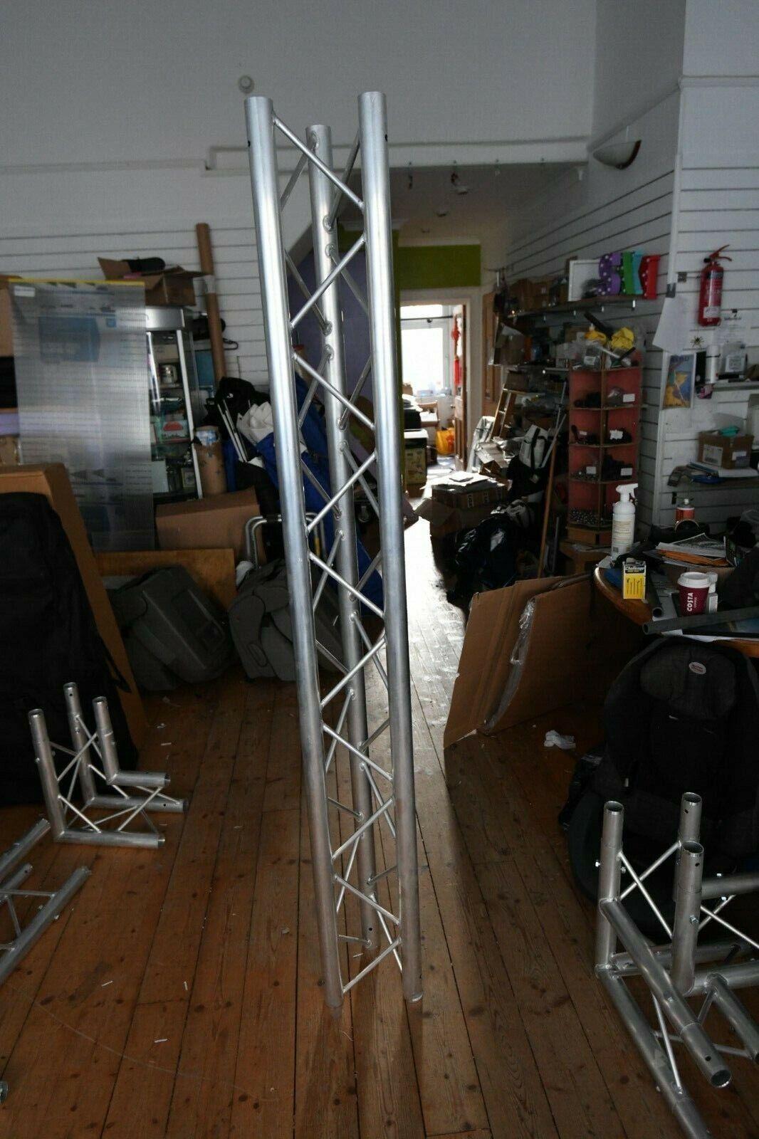 Opti Trilite 200 Triangular Truss Exhibition or Stage Lighting - 4x3m stand set