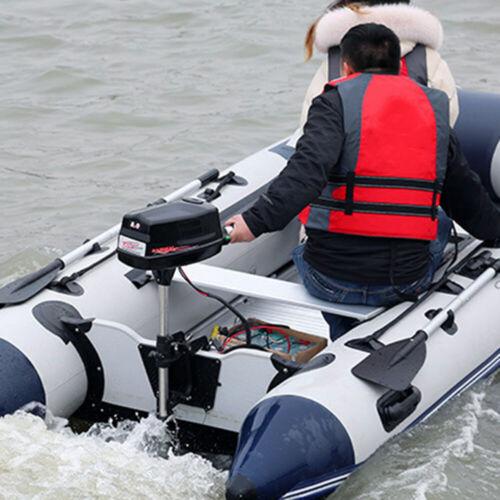 48V 8 PS Motor Aussenborder Elektromotor Bootsmotor Aussenbordmotor Aussenborder